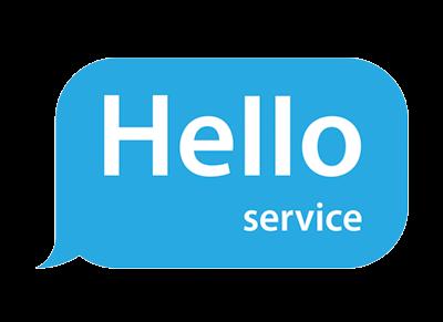 Логотип HelloService