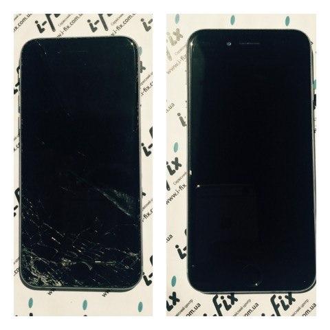 Срочная замена стекла на iPhone 6