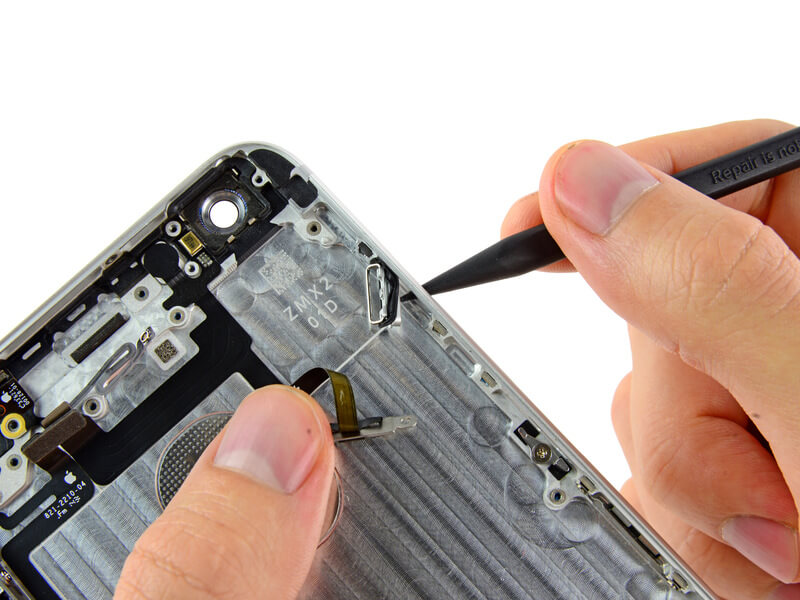 Замена кнопки включения iPhone 6s Plus