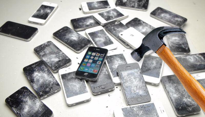 Особенности ремонта iPhone