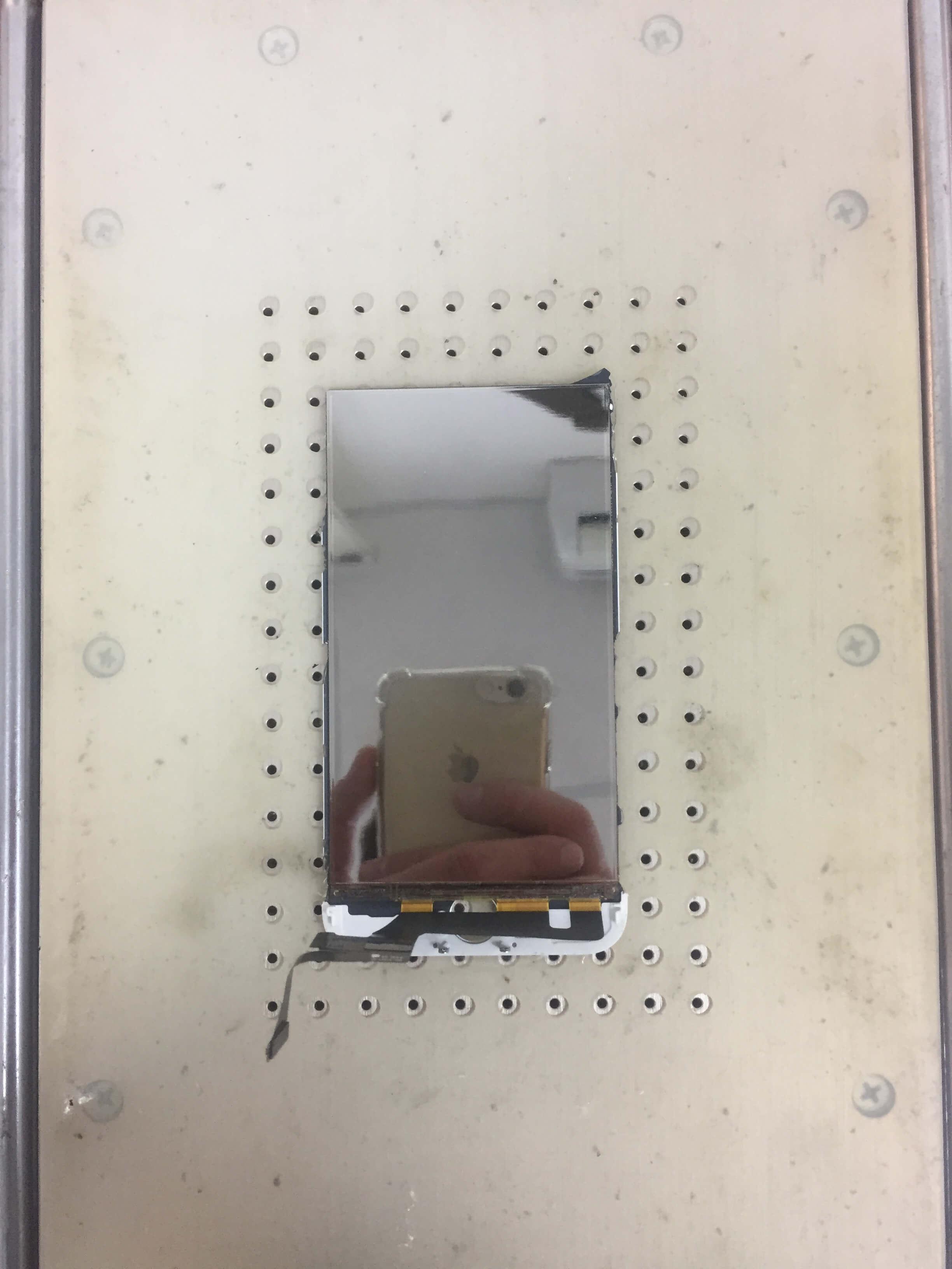 Прогреваем дисплей на сепараторе
