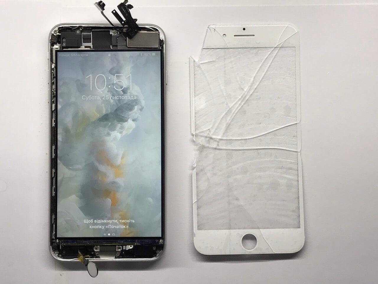 Диагностика дисплея iPhone 8 Plus