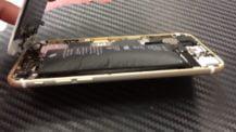 Вздутая батарея iPhone