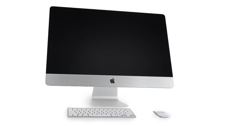 Темные пятна на экране iMac