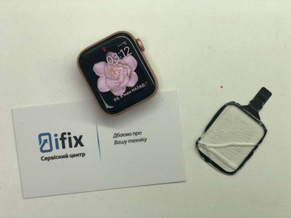 Замена стекла Apple Watch Series 4 в Киеве