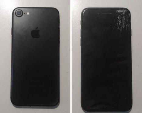 битый iPhone 7