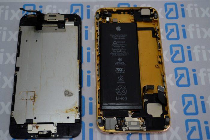 iPhone 6 после чистки