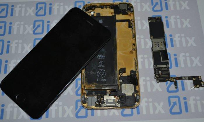 iPhone 6 после воды