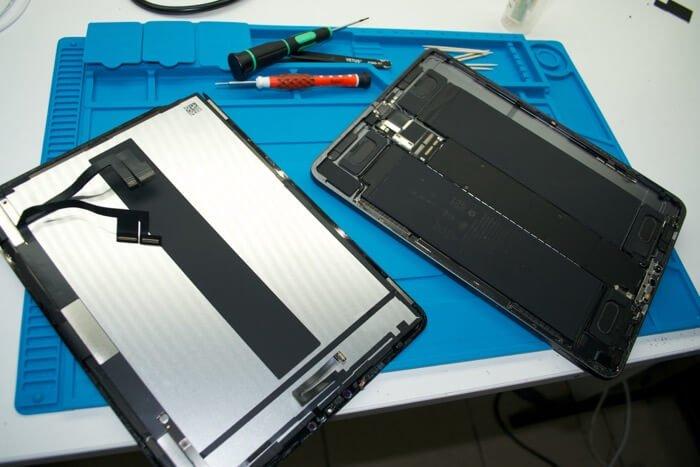 ремонт дисплея на iPad Pro 11