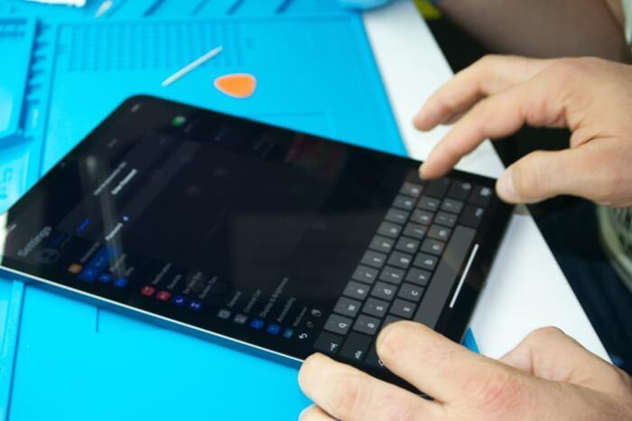 iPad Pro 11 с замененным дисплеем