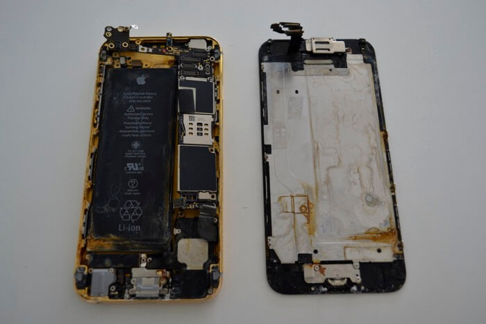 iPhone после воды