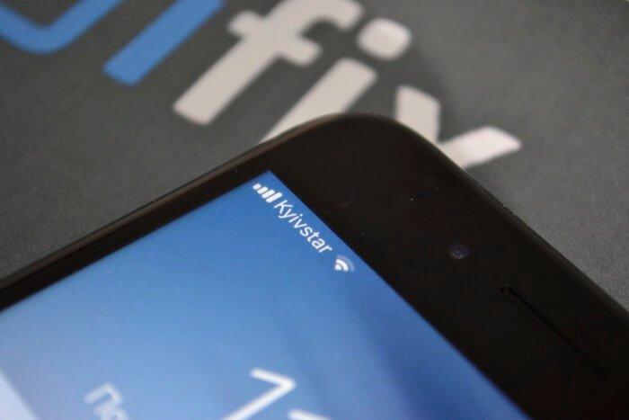 нет сети на iPhone 7