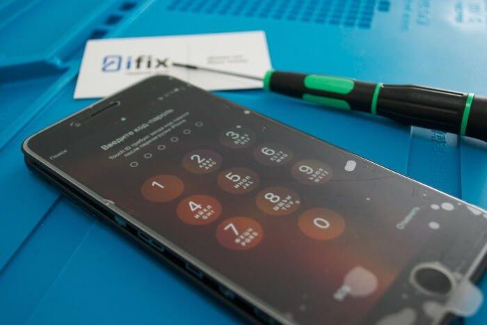 реболлинг модема iPhone 7 Plus