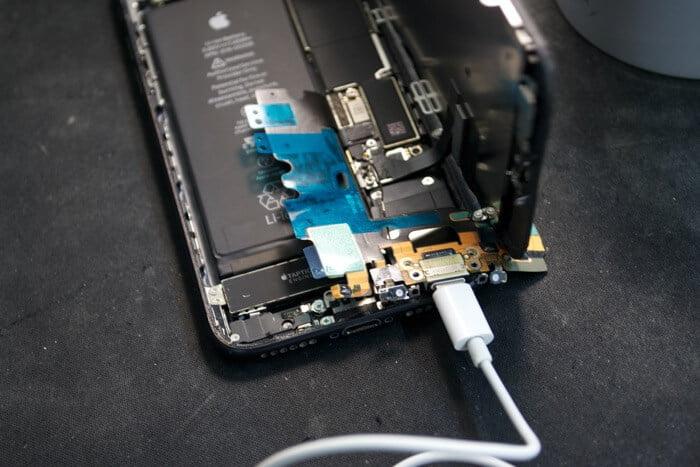 не работает гарнитура в iPhone 7