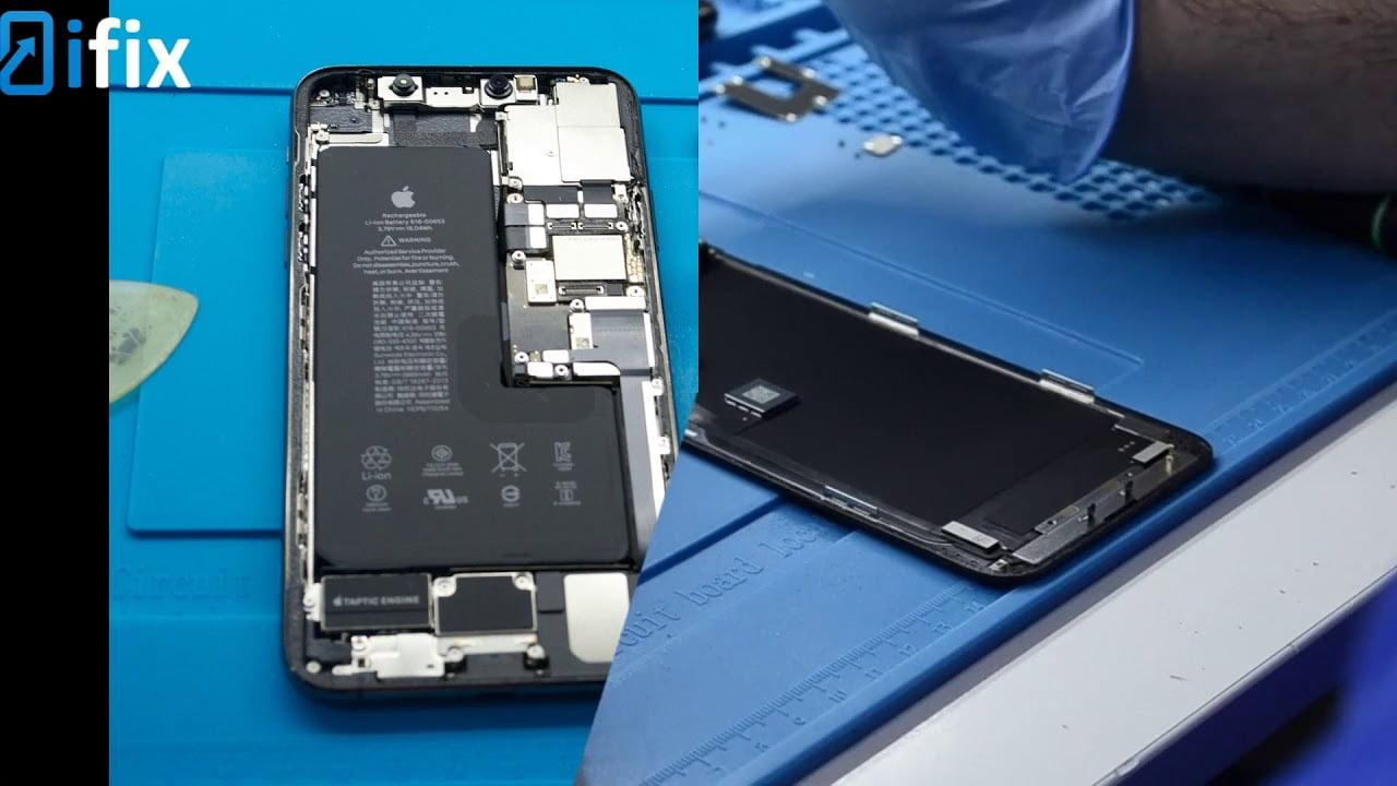 Замена дисплея на iPhone 11 Pro Max + видео