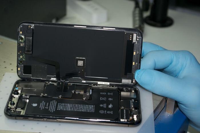разборка устройства iPhone 11 Pro