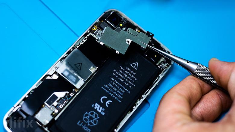 Металлическая защита Айфон 4с
