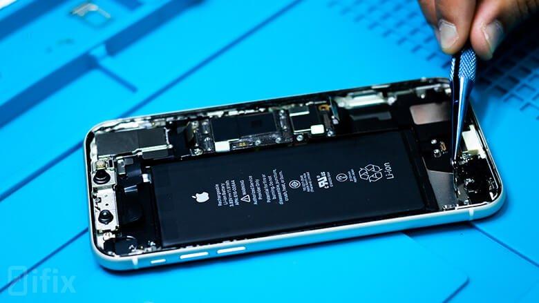 замена динамика iphone 11