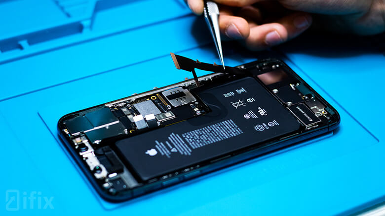 замена динамика iphone 11 pro max