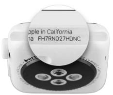 Как определить модель Apple Watch