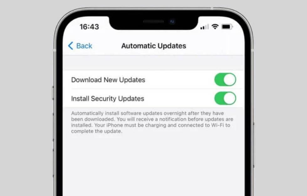 Обновление безопасности iOS 14