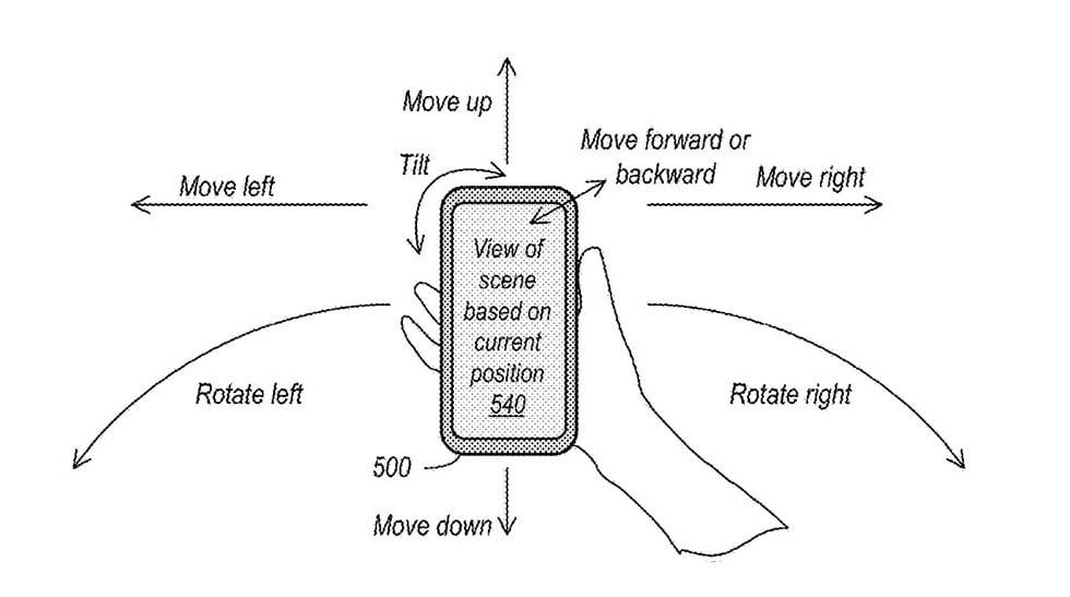 Патент Apple захват, обработка и отображение панорамного светового поля