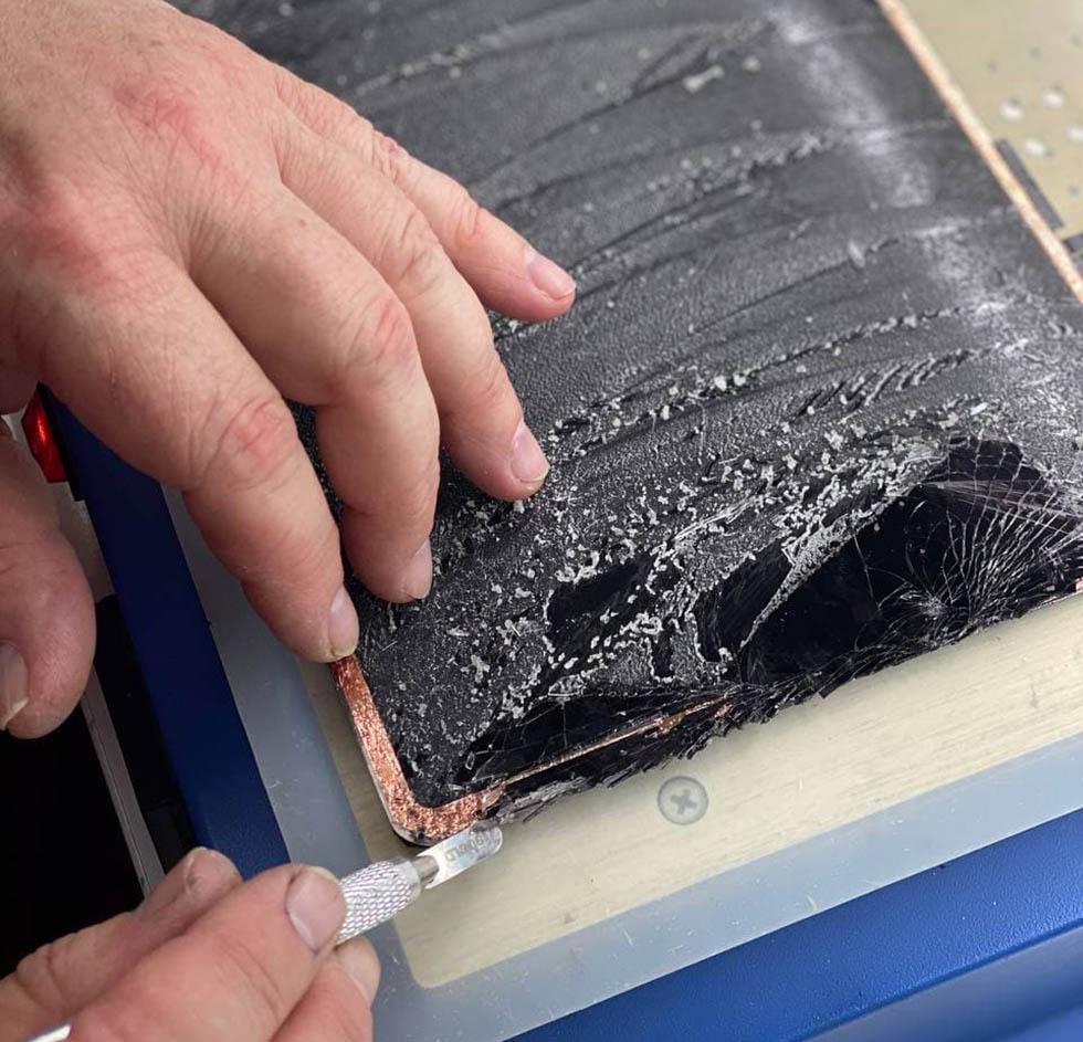 Замена стекла iPad Air 4
