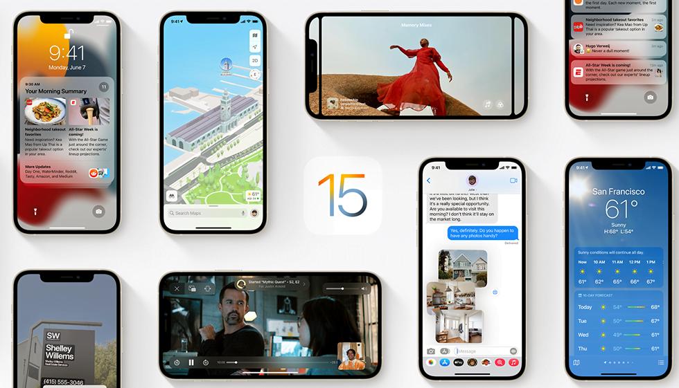 Функции iOS 15