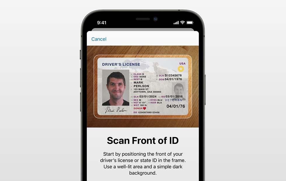 Wallet может заменить собой паспорт