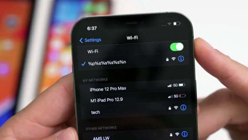 В iOS 14.7 исправлена проблема Wi-Fi